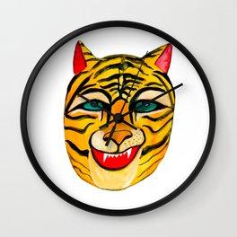 Laughing Tiger Wall Clock