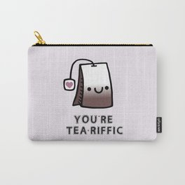 You're Tea-Riffic Carry-All Pouch