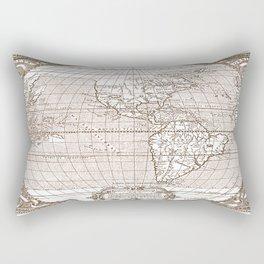 America Map 1587 Rectangular Pillow