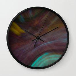 Bands of Color Wall Clock