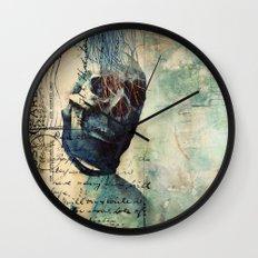 Skullman Wall Clock