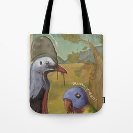 Post-Apocalyptic Australiana Tote Bag