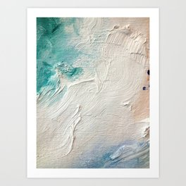 The Fact That You Move So Beautifully More or Less Takes Care of Futurism  Art Print