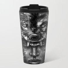 Empress Wolf Metal Travel Mug