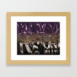 Purple Royale Framed Art Print