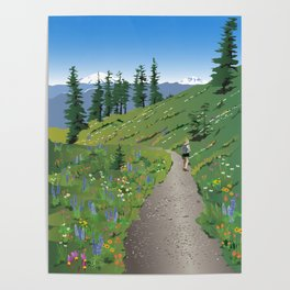 Silver Star Mountain Poster