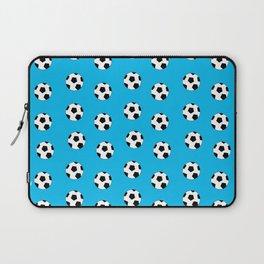Neck Gaiter Blue Soccer Balls Soccer Team Neck Gator Laptop Sleeve