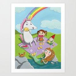 Magical Summer Art Print
