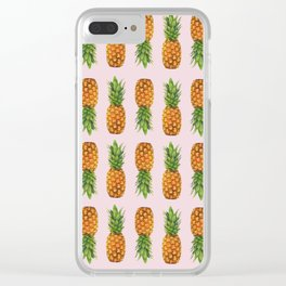 pineapple mania Clear iPhone Case