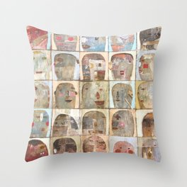 Playing To The Gallery Throw Pillow