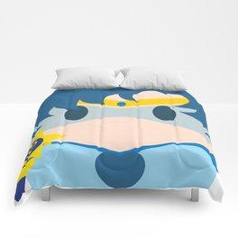 Sailor Mercury Block Comforters