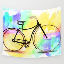 Pedal-driven beauty Wall Tapestry