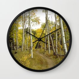 Slow and Quiet, too wonderful to hurry Wall Clock