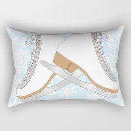Ice skates Rectangular Pillow