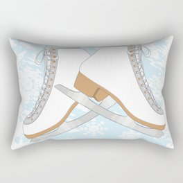 Ice skates Rectangular Pillow