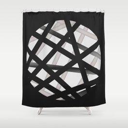 Peek Hole Shower Curtain