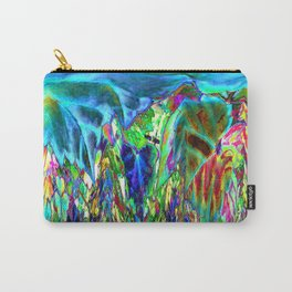 Inverted/Solarized Abstract 3 Carry-All Pouch