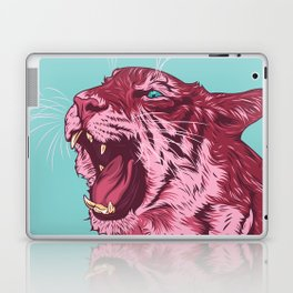 Magenta tiger Laptop & iPad Skin