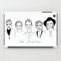 one direction iPad Cases featuring One Direction by ☿ cactei ☿