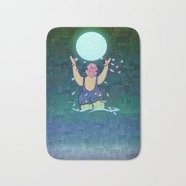 Bathing somewhere under the Moon Bath Mat