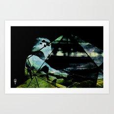 Storm Trooping Art Print