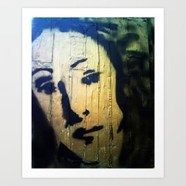 VENUS IN GOLD4 Art Print