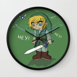 The Legend of HEY! Wall Clock