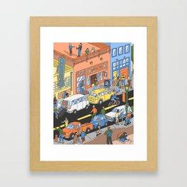 Deep Ellum, TX Framed Art Print