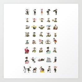 SticLer Art Print
