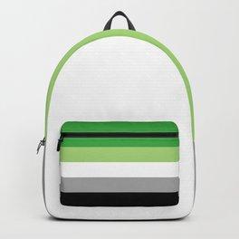 Aromantic Flag Backpack