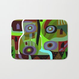 Forest Green Bath Mat