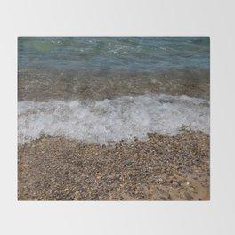 Lake_Michigan Beach, Charlevoix - 4 Throw Blanket