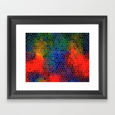 Abstract Mosaic 3 Framed Art Print