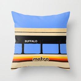THE METRO Throw Pillow
