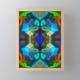 十七 (Shíqī) Framed Mini Art Print