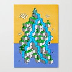 Ecubesystem Canvas Print