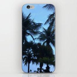 Palm trees at Sunway Lagoon Resort, Malaysia iPhone Skin