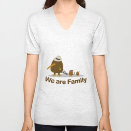 The Kiwi's Family Unisex V-Neck
