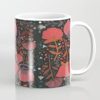 number Mugs featuring Nature number 2. by Jo Cheung Illustration