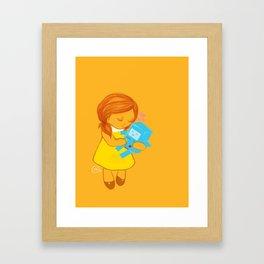holly loves beemo  Framed Art Print