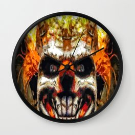 Twisted Metal Sweet Tooth The Killer Clown Wall Clock