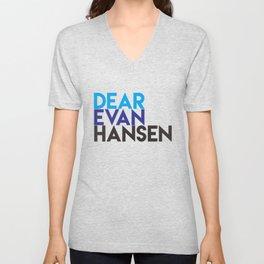Dear Evan Hansen Unisex V-Neck