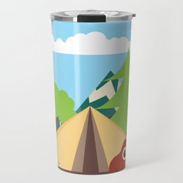 camping , outdoors , nursery decor , children gift, birthday gift Travel Mug