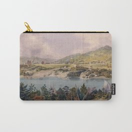 Panorama of West Point from Constitution Island by John Rubens Smith (c 1820) Carry-All Pouch