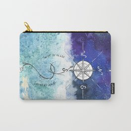 Anchor and the horizon Carry-All Pouch