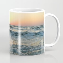Sunsetting into Sea Coffee Mug