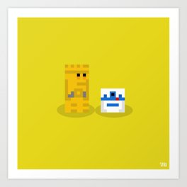 Not The Droids You're Looking For?... Art Print