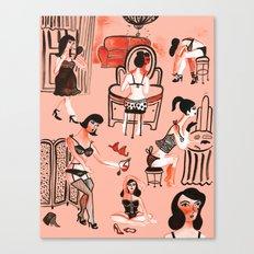 Budoir Canvas Print