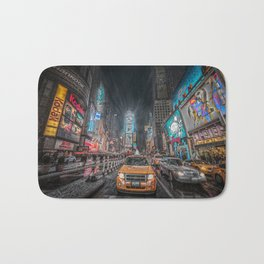Times Square NYC Bath Mat