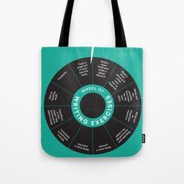 Wheel o' Writing Exercises Tote Bag